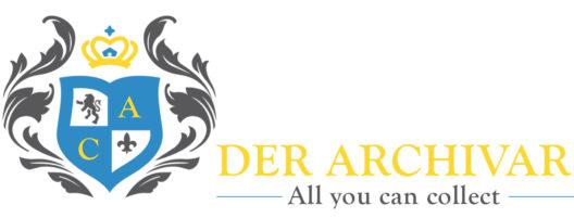 Logo Comic Archivar Gelb Der Archivar