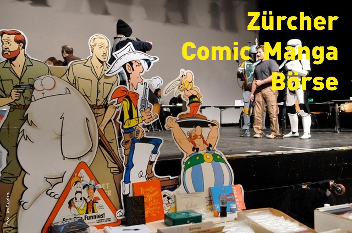 Veranstaltung Comic Manga Börse Zurich 07.06.2020